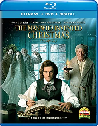 The Man Who Invented Christmas 2017.Amazon Com The Man Who Invented Christmas Blu Ray Dan