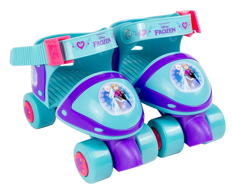 Frozen Patines Infantiles 4 Ruedas + Protecciones Darpeje OFRO019: Amazon.es: Juguetes y juegos