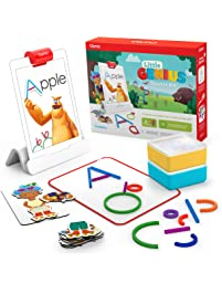 Osmo Little Genius Starter Kit for iPad: 4 Hands-On  Learning Games for Pre-Reading, Problem Solving,  & Creativity