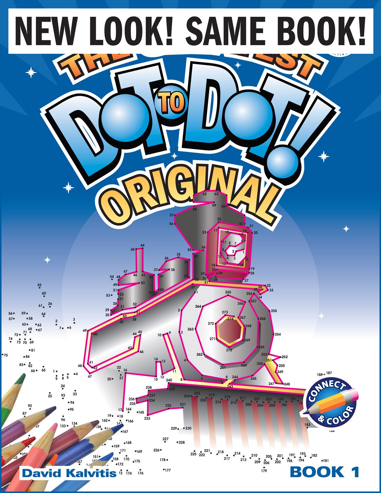 The Greatest Dottodot Book In The World, Book 1: David Kalvitis:  8601421110846: Amazon: Books