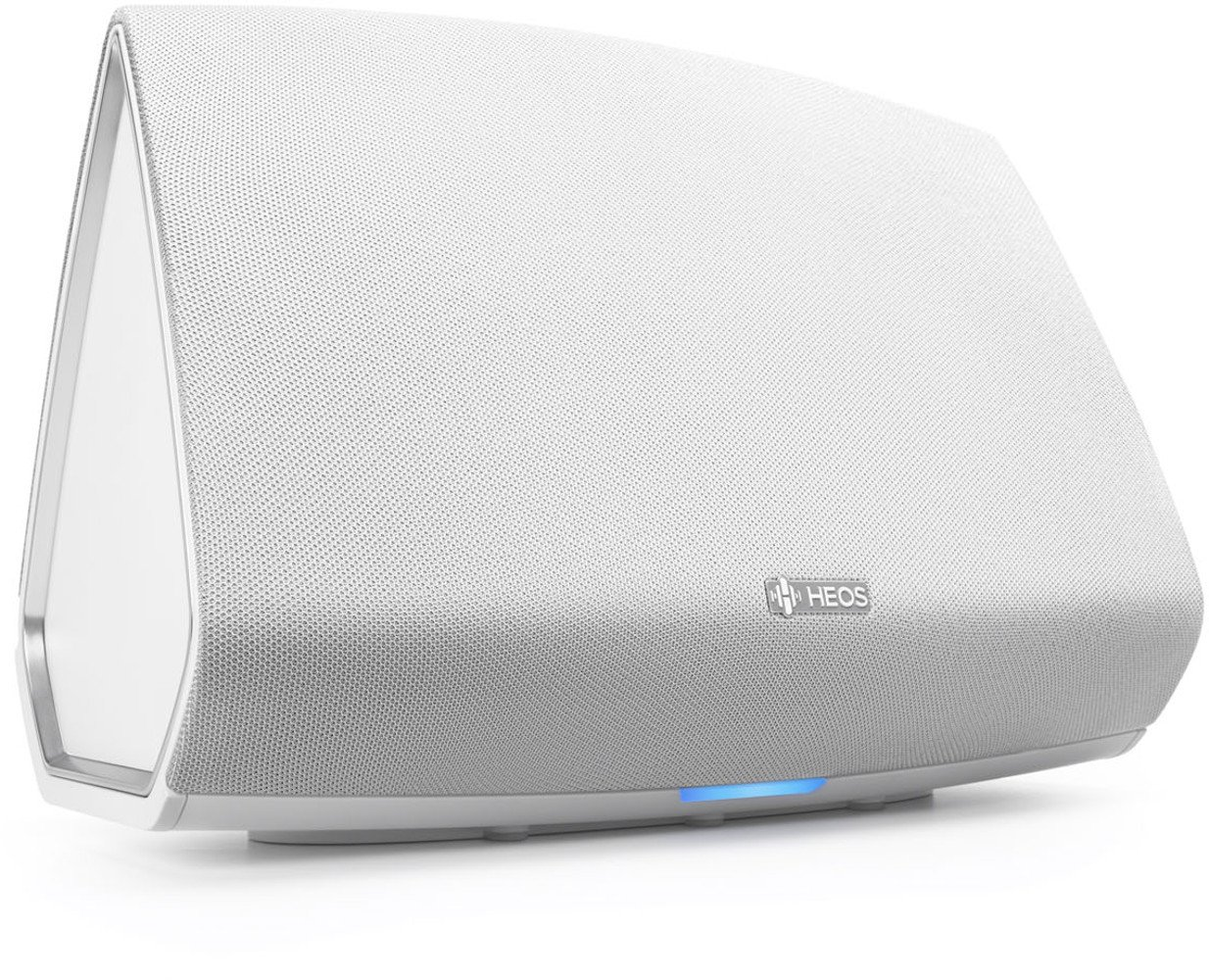 Denon HEOS5WTE2 Audio-Streaming HEOS 5 Altavoz (multisala, conecte Spotify, Deezer, de Marea, Soundcloud, NAS, Bluetooth, WiFi, USB, Control de Aplicaciones, Aux-en) Colour Blanco (Importado)