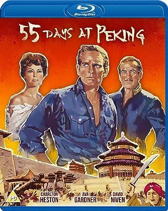 55 Days at Peking (Blu-ray) [Reino Unido] [Blu-ray]: Amazon.es: Charlton Heston, Ava Gardner, David Niven, Nicholas Ray, Charlton Heston, Ava Gardner: Cine y Series TV