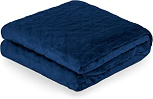 Bare Home Duvet Cover for Weighted Blanket (48