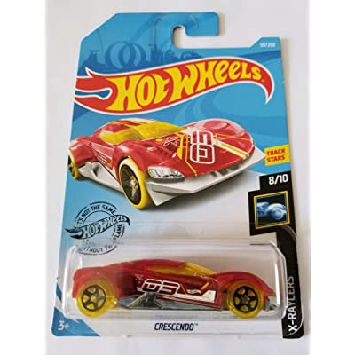 Hot Wheels 2020 X-Raycers - Crescendo, Red 69/250: Toys & Games