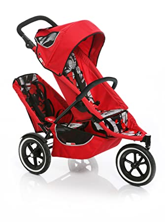 Phil U0026 Tedu0027s Sport Buggy Stroller With Doubles Kit In Graffiti Red