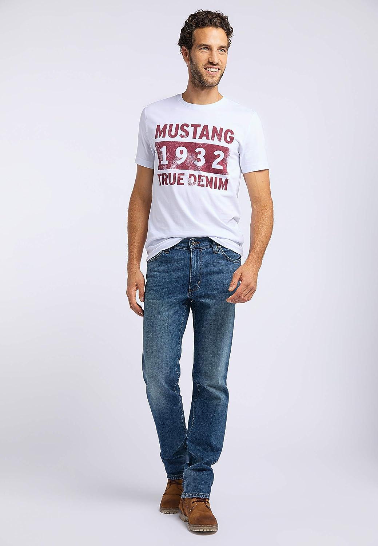 MUSTANG Herren Regular Fit Tramper Jeans 5000-582 Blau