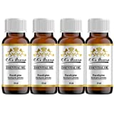 Rks Aroma Eucalyptus Essential Oil - 100% Pure & Natural, 10ml (Pack of 4)