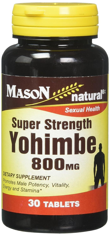 Amazon.com: Mason tabletas de vitaminas Super Fuerza yohimbe ...