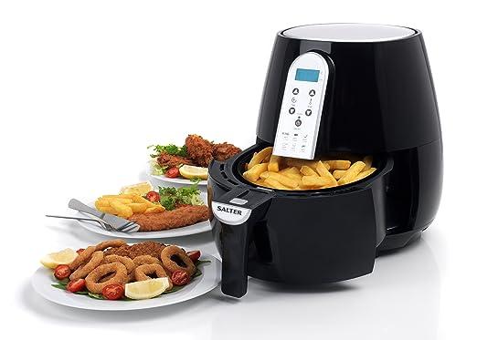 Salter EK2559 XL - Freidora Digital de Aire Caliente (4, 5 L, 33 x 34), Color Negro: Amazon.es