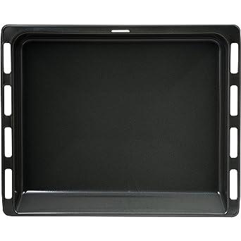Bosch 6900434178 - Bandeja para hornos, color negro