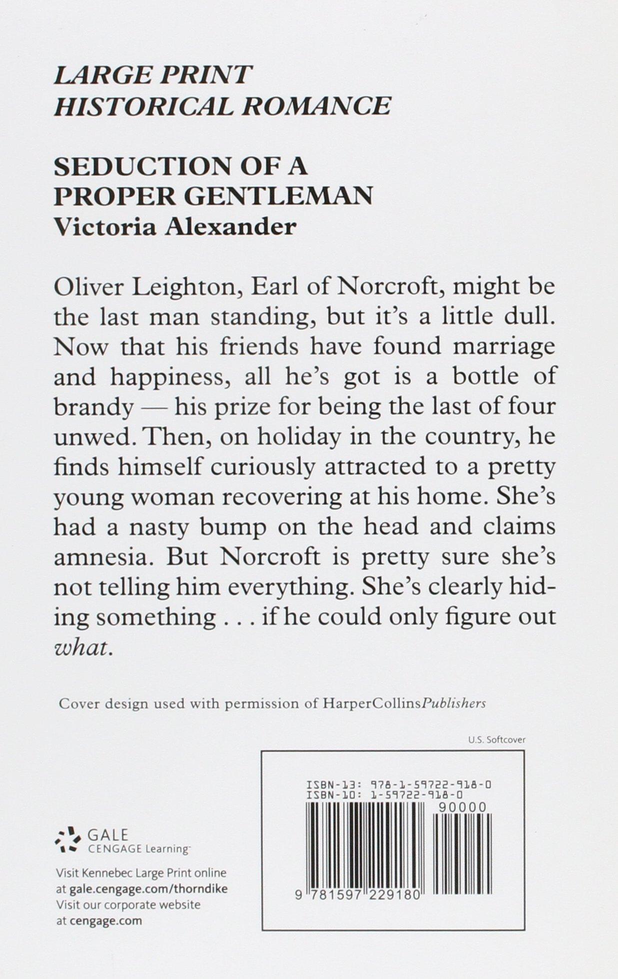 seduction of a proper gentleman