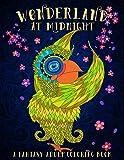 Wonderland At Midnight: A Fantasy Adult Coloring Book (Volume 1)