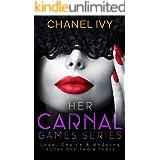 Her Carnal Games Series: Her Carnal Love, Desire & Undoing - Books 1 - 3 (Billionaire CEO Lesbian Romance Drama)