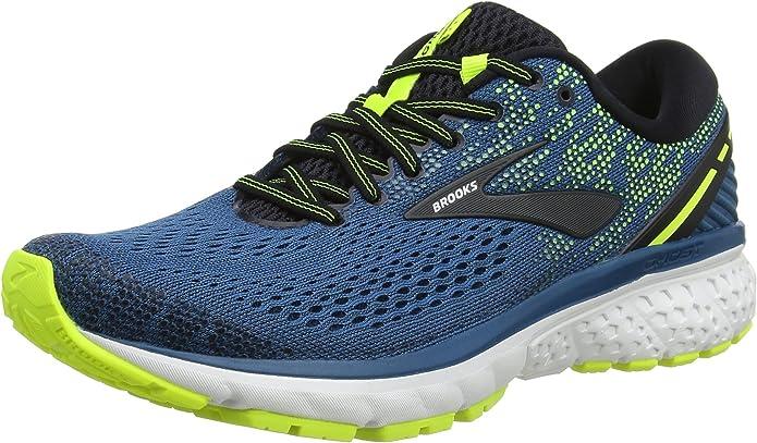 Brooks Ghost 11 Sneakers Laufschuhe Herren Blau/Gelb