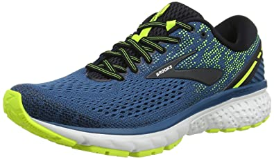 ae7df8385ccb4 Image Unavailable. Image not available for. Color  Brooks Mens Ghost 11 -  Blue Black Nightlife ...