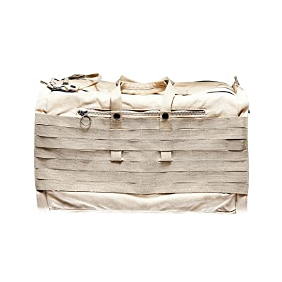 Able Archer Canvas Top Loader Duffel Bag - Sand
