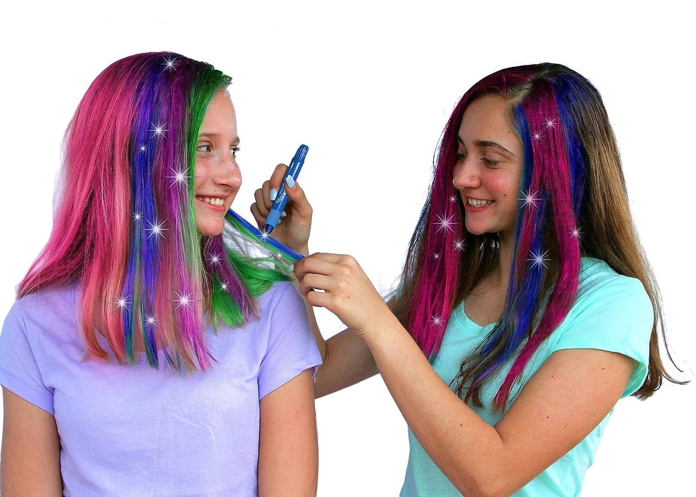 Kids Hair Chalk Jumbo Hair Chalk Pens Washable Hair Color Safe