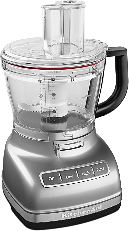 KitchenAid Food Processor 14cp Cnt Silver - Robot de cocina: Amazon.es: Hogar