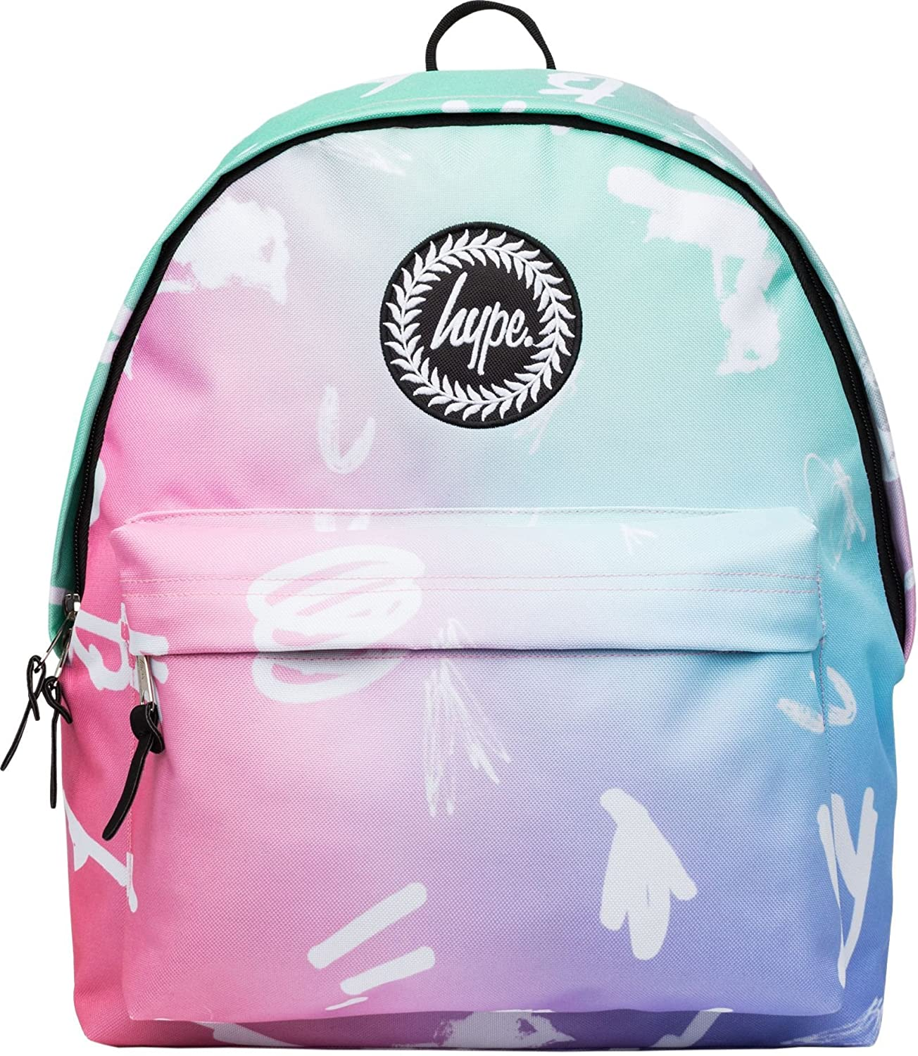 24e86b7216 Hype Backpack Bag - Rainbow Scribble Rucksack - Bags   Backpacks For Boys  and Girls Women and Men - Rainbow Scribble  Amazon.co.uk  Luggage