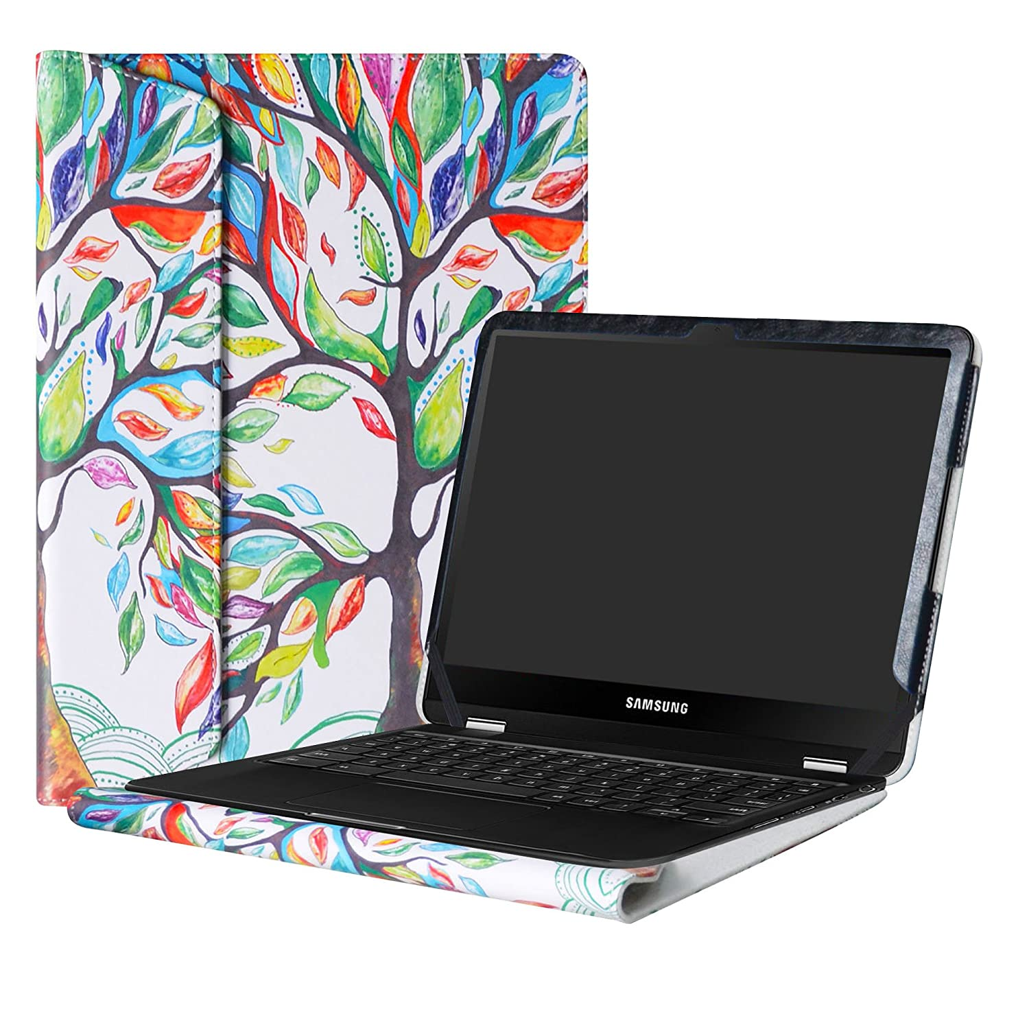 Case Cover 12.3 Inch for Samsung Chromebook Plus XE513C24 Protective Hard Shell