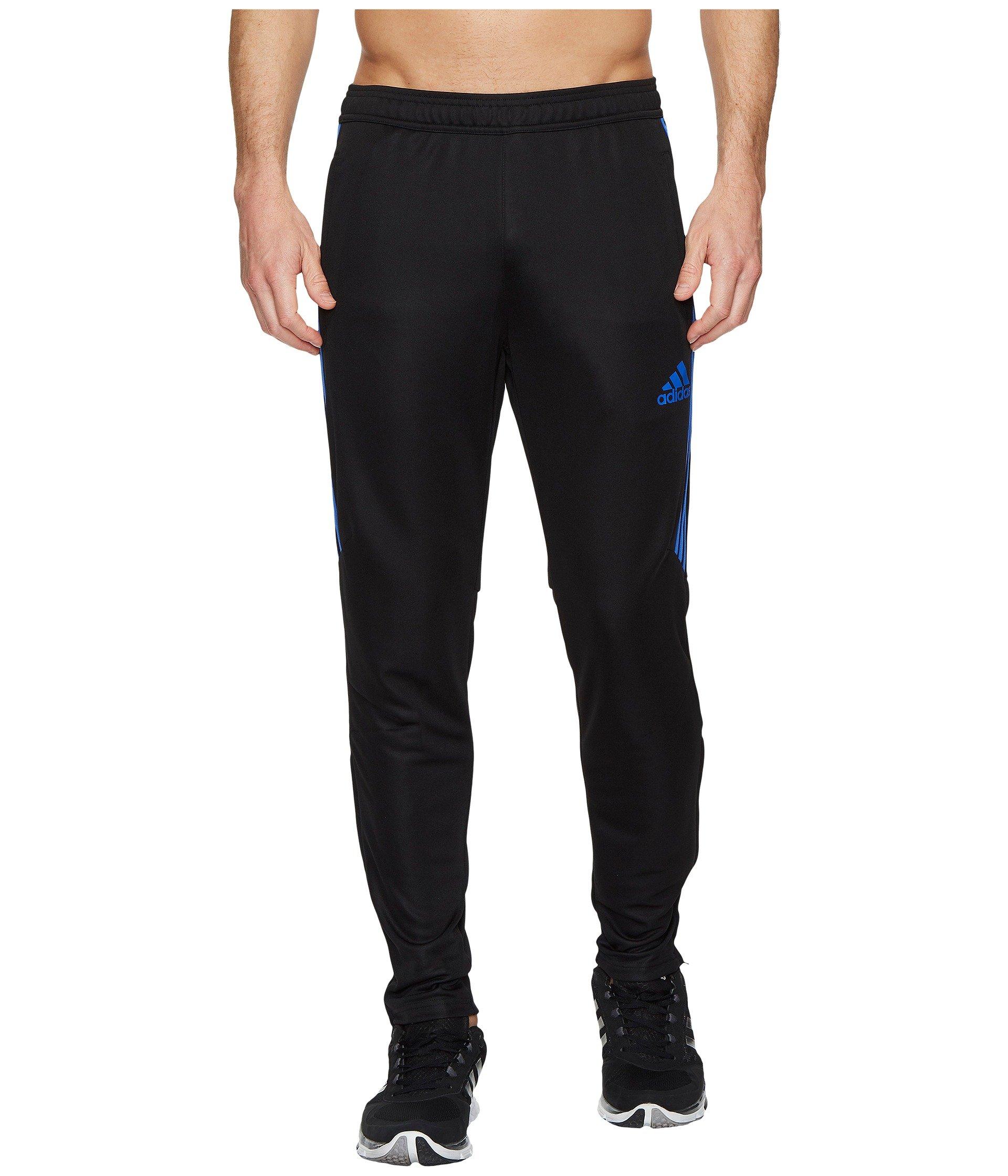 adidas Men's Tiro '17 Pants Black/High Res Blue Small 31