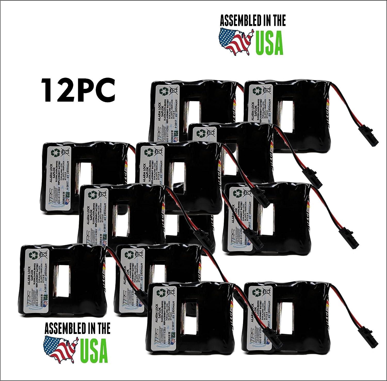 12PC Replacement Saflok System 5000,DL-2,HTL1,SL2500 Door Lock Battery