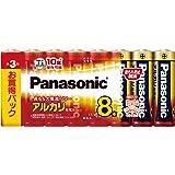 パナソニック 単3形アルカリ乾電池 8本パック LR6XJ/8SW