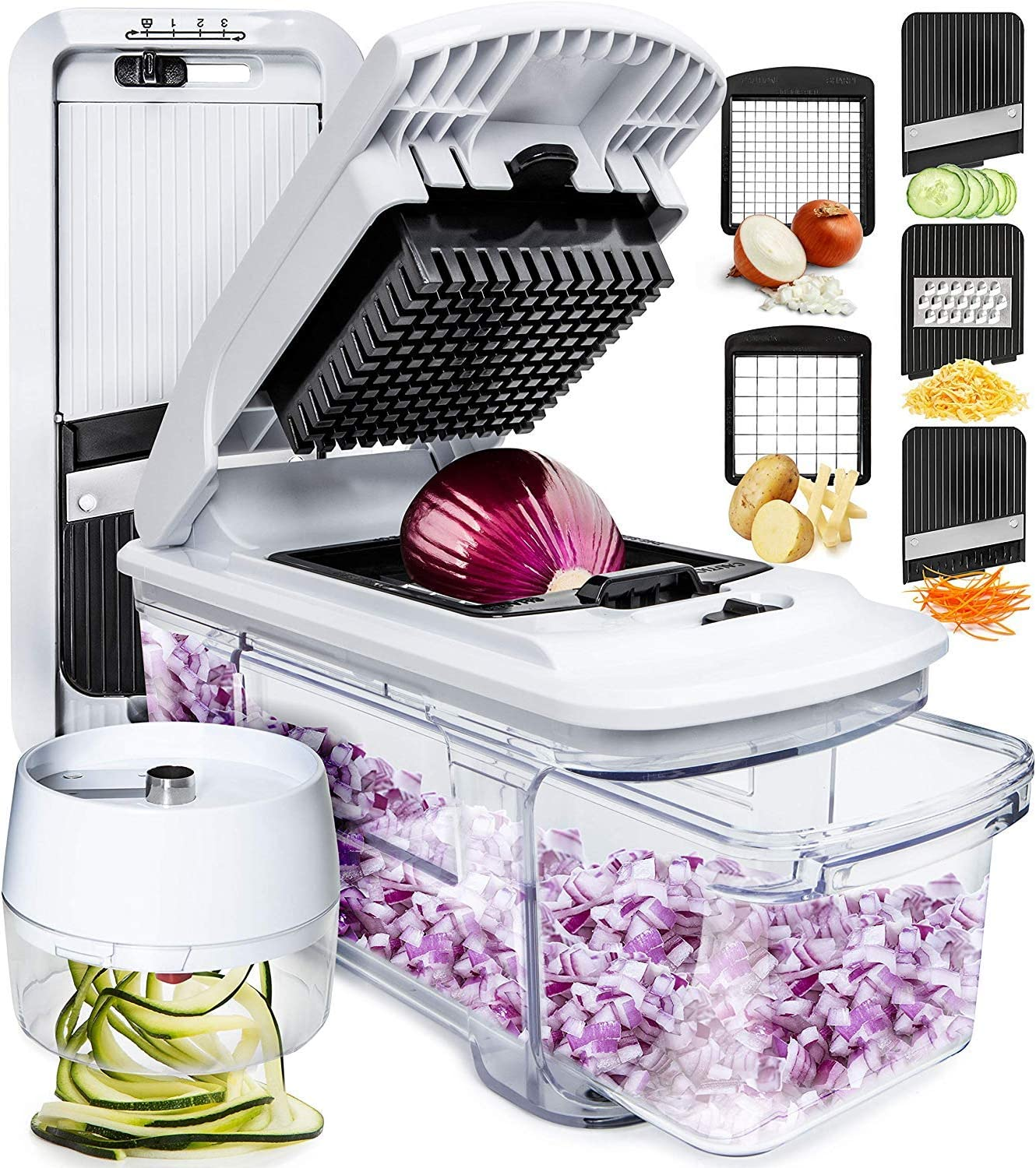 fullstar Mandoline Slicer Spiralizer Vegetable Slicer