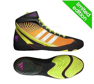 adidas Adidas Response 3 1 Wrestling Shoes Bahia Orange Black Bahia Glow Bahia Orange Black Bahia Glow Sales Promotion