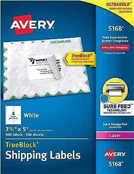 Amazon.com: Avery etiquetas de dirección de envío ...
