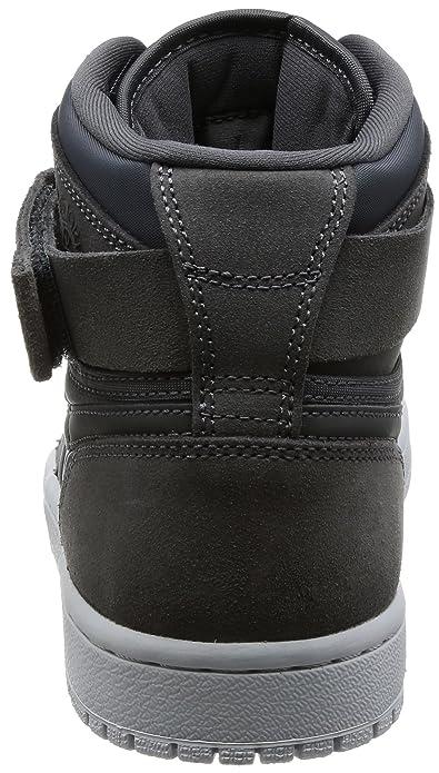 Nike Air Jordan 1 High Strap, Scarpe da Basket Uomo, Nero