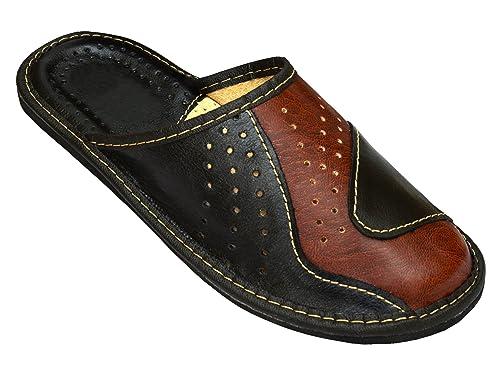 Pour Mules Coloris Homme Noir Veritable Resistance Chaussures De En Chaussons Marron Becomfy Disponibles Cuir Materiaux mOyvN8wn0