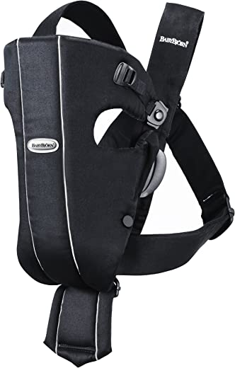 BABYBJORN Baby Carrier Original - Black, Cotton