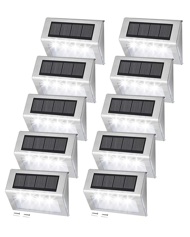 Easternstar Solar Step Lights