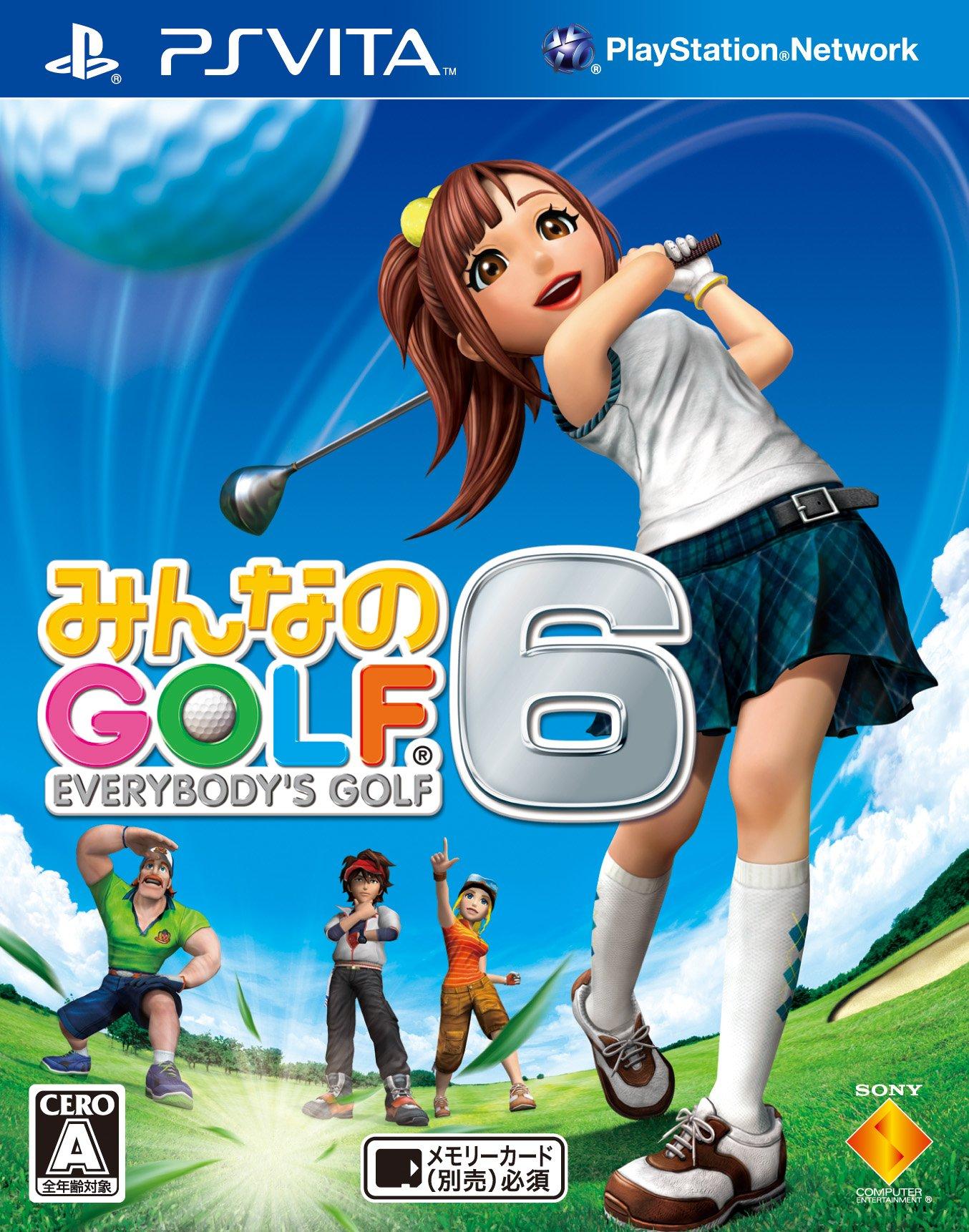 Minna no Golf 6 [Japan Import]
