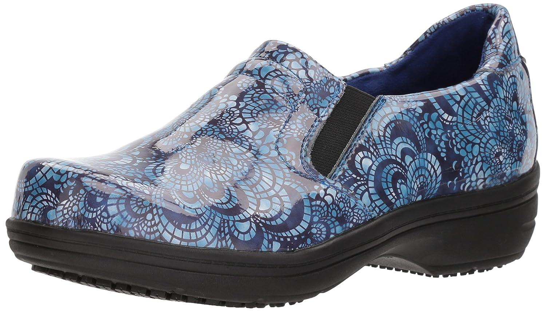 Easy Works Women's Bind Health Care Professional Shoe B075M3JVX3 9.5 B(M) US|Blue Mosaic Pa