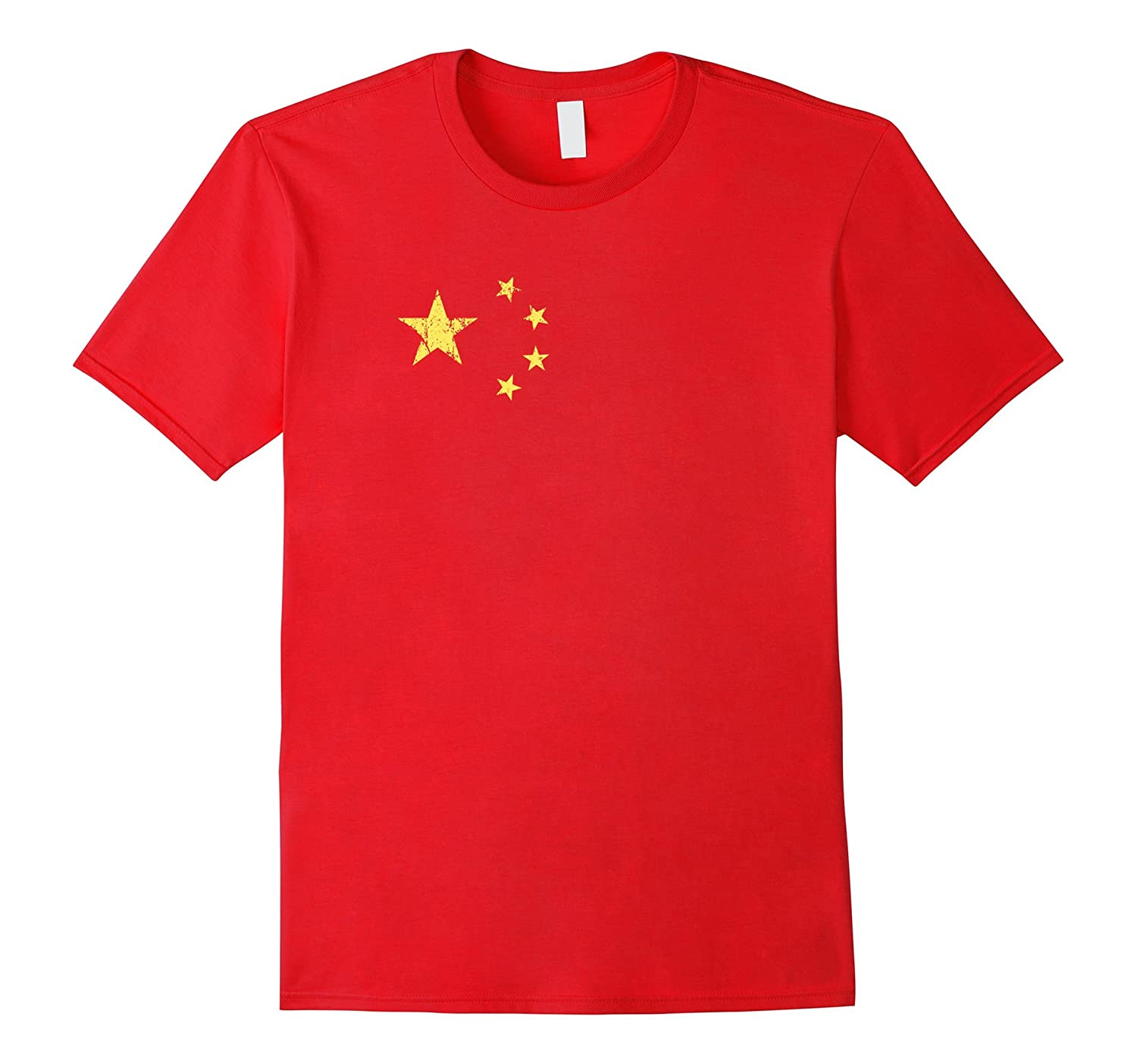 Flag of China T-shirt - Chinese flag of the peoples republic-Art