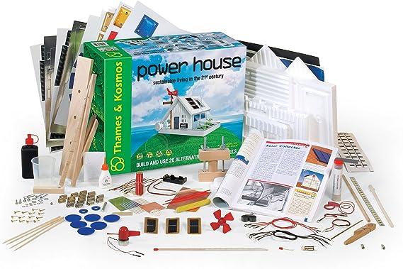 Thames & Kosmos 626112 Power House, La casa sostenible, juguete ...