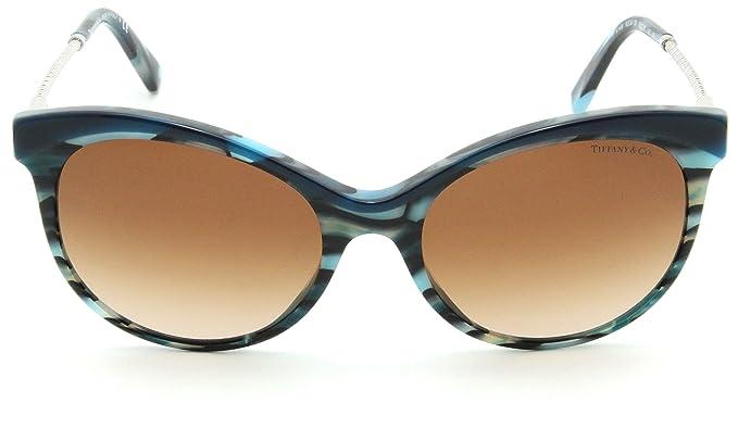 e96c3f937db Tiffany   Co. TF 4149 Women Butterfly Gradient Sunglasses Brown ...