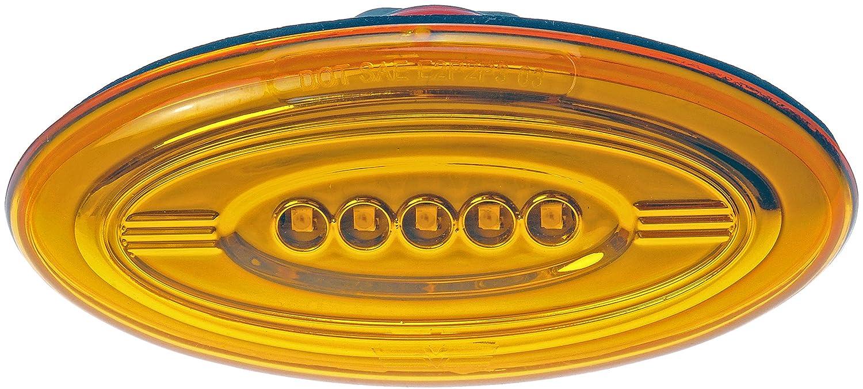 Dorman 888-5411 Front Side Marker Light Assembly for Select Peterbilt 386 Trucks