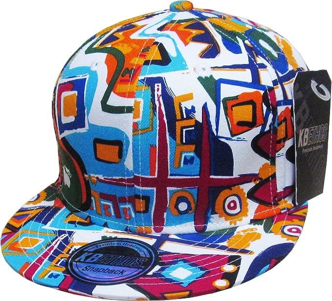 c5faba72454 KBETHOS NW-1468ALL AZ Aztec Snapback Baseball Cap  All WHT  Amazon ...
