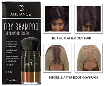 Amazon.com: Ambiance Dry Shampoo (Red)-Refreshes, Conceals Roots ...
