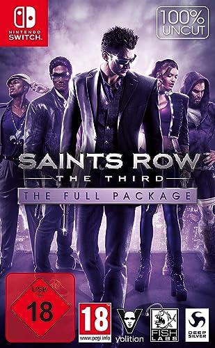 Koch Media Saints Row: The Third - The Full Package vídeo - Juego (Nintendo Switch, Acción, Modo multijugador, M (Maduro)): Amazon.es: Videojuegos