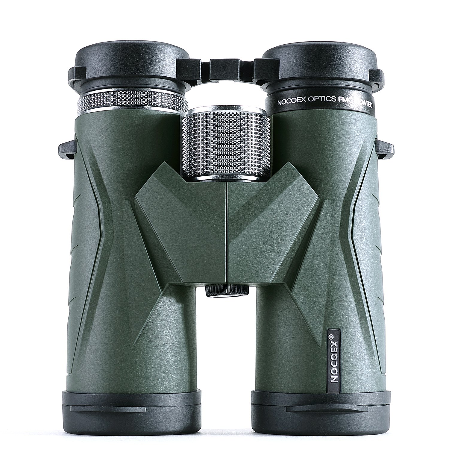 nocoex 10 x 42 HD屋根プリズムコンパクト双眼鏡with Carrying Bag andベルト、Suitable for Adults Bird Watching、ハンティング、Stargazing、アーミーグリーン B078H5B1CH