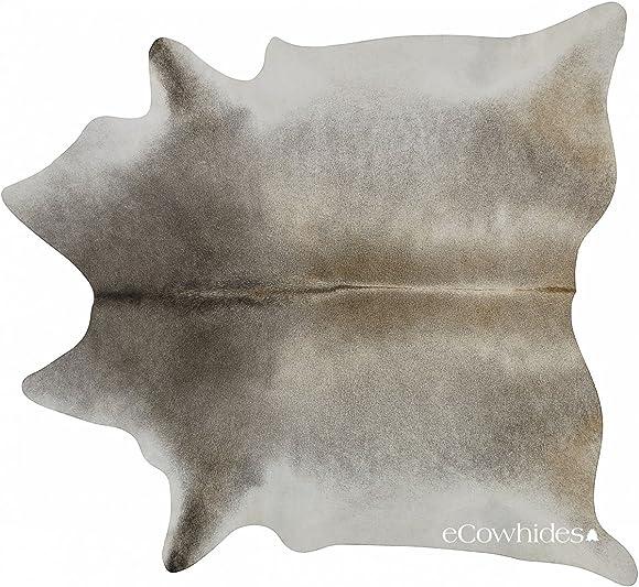 ecowhides Grey Palomino Brazilian Cowhide Area Rug