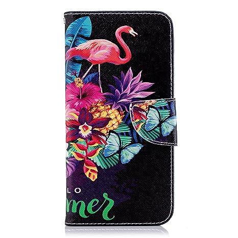 Funda LG G7 ThinQ,Carcasa LG G7 ThinQ Wallet PU,Okssud Moda ...
