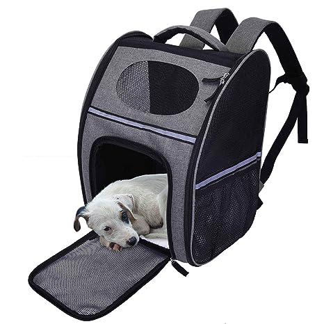 Lampop Mochila para Mascotas Portador de Viaje Bolsa de Transporte ...