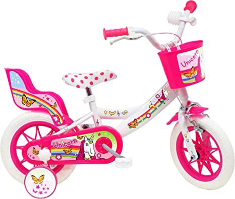 Denver - Bicicleta Infantil de 12 Pulgadas, diseño de Unicornio ...