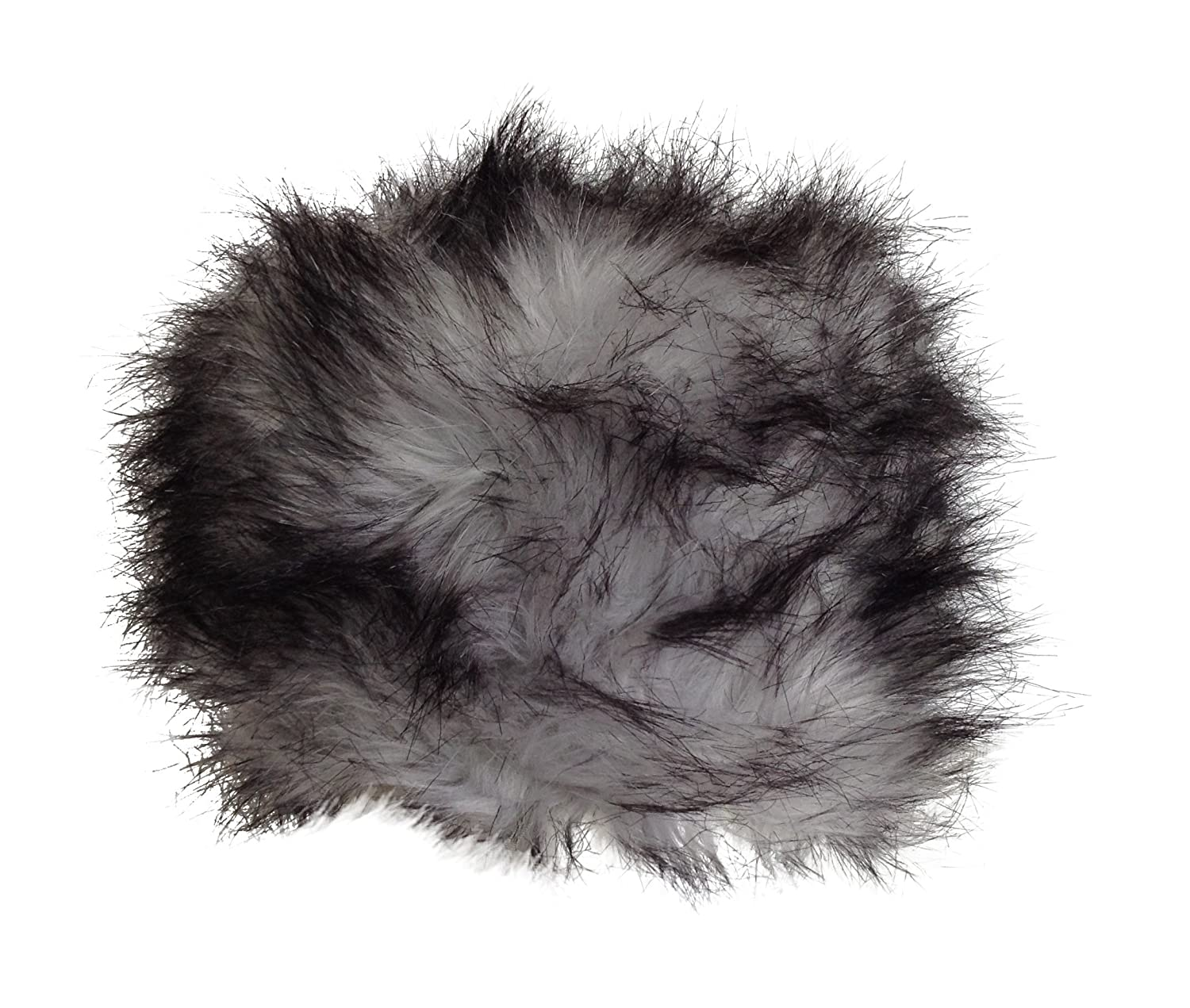 Central Chic HAT レディース 58cm One Size Fits All Thick Fur Grey Wolf B00NOPTOUA