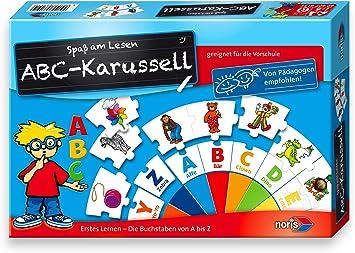 noris 606076151 - Juego de Tablero (Juego de Mesa de Aprendizaje, Niños, Niño/niña, 5 año(s)): Amazon.es: Juguetes y juegos